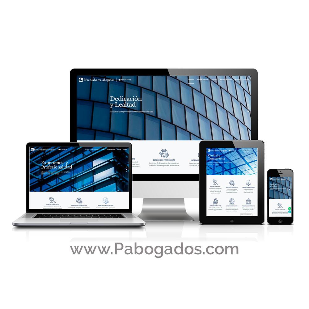 Diseño Páginas Web de Abogados - Madrid
