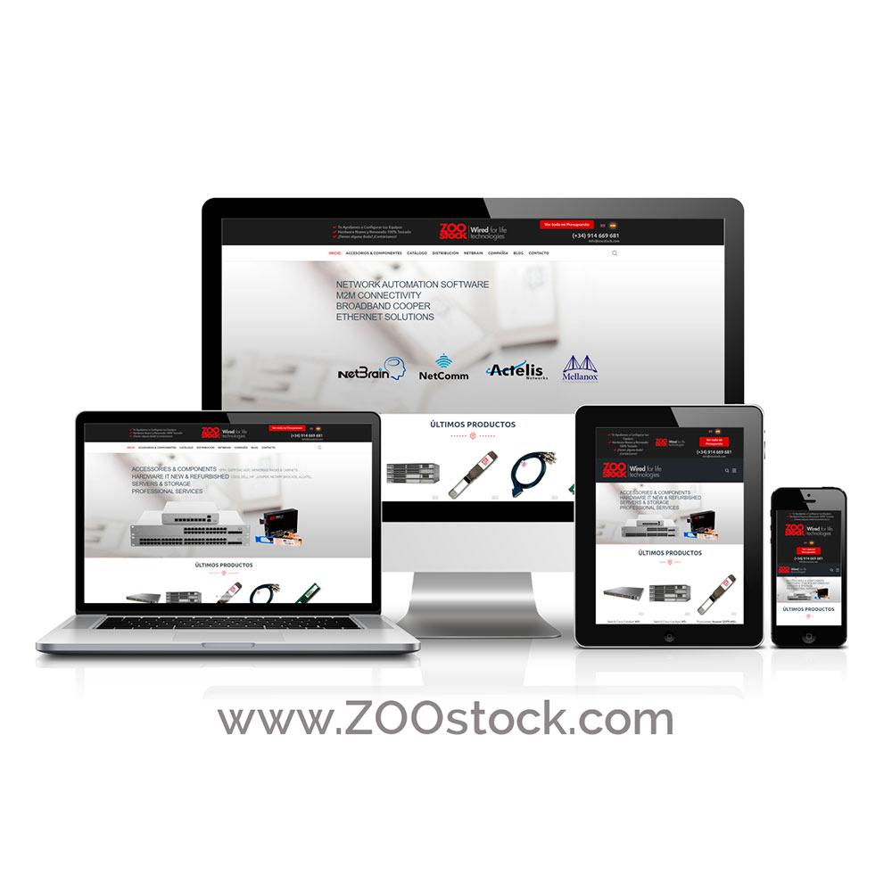 Diseño de Tiendas Online ZOOstock.com
